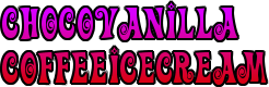 Chocovanilla CoffeeIcecream
