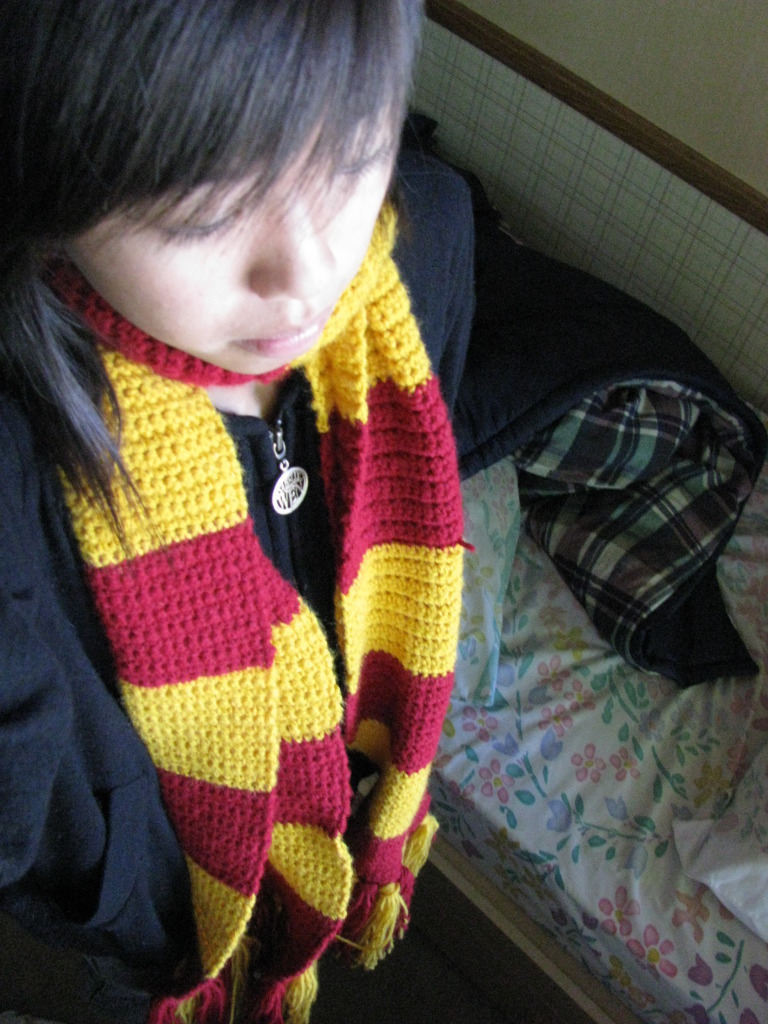 Gryffindor Scarf How To Knit Or Crochet A Stripy Scarf