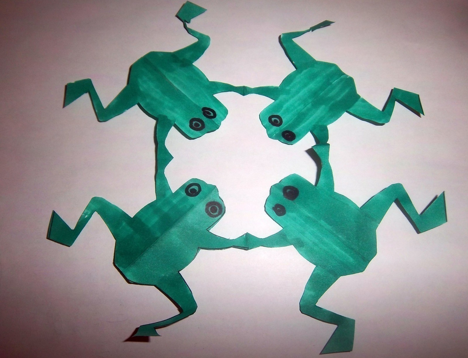 Frog Snowflake How To Make A Snowflake Papercraft On