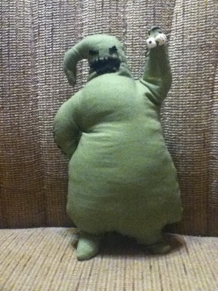 Oogie Boogie Man A Food Plushie Sewing On Cut Out