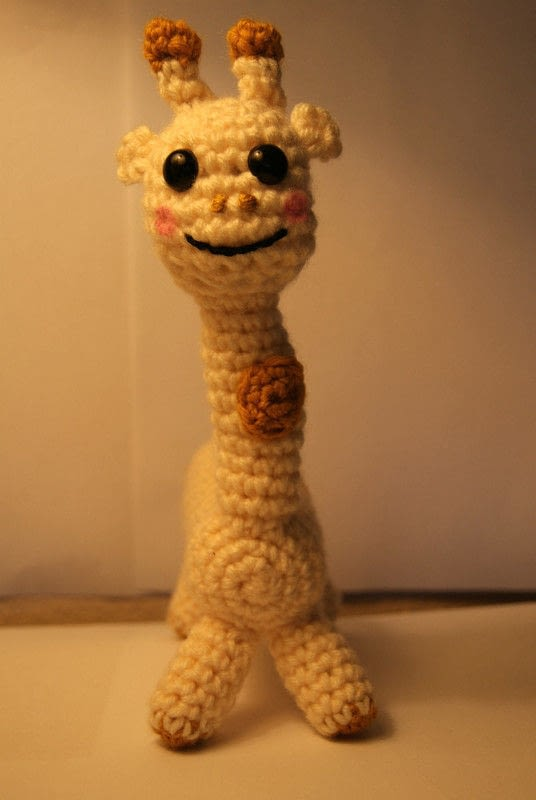 Stuffed Giraffe 183 A Giraffe Plushie 183 Yarn Craft And