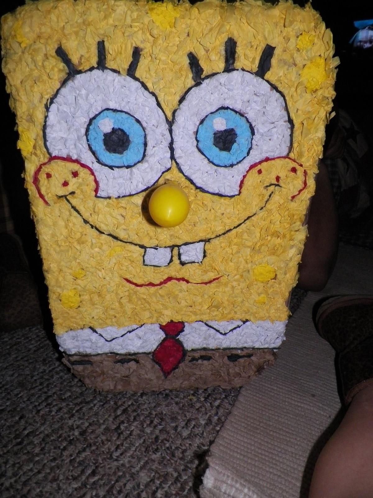 Spongebob Pinata 183 A Pi 241 Ata 183 Construction And Papercraft