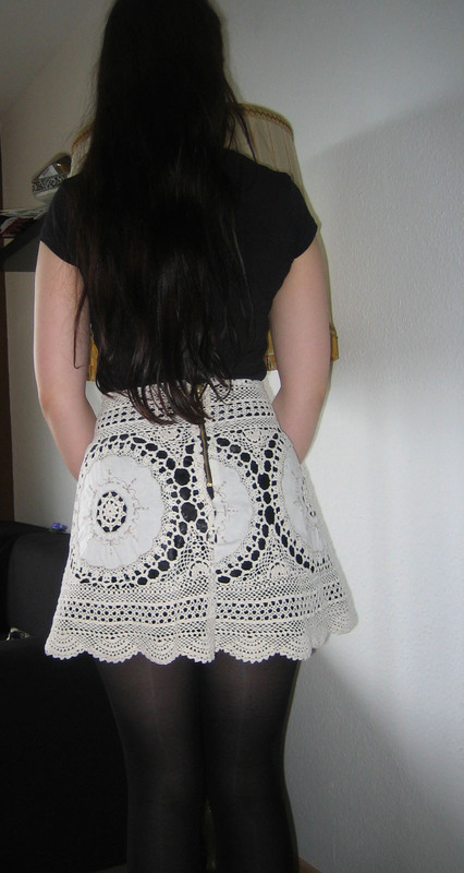 Lace Skirt Out Of Granny 180 S Tablecloth 183 How To Recycle A