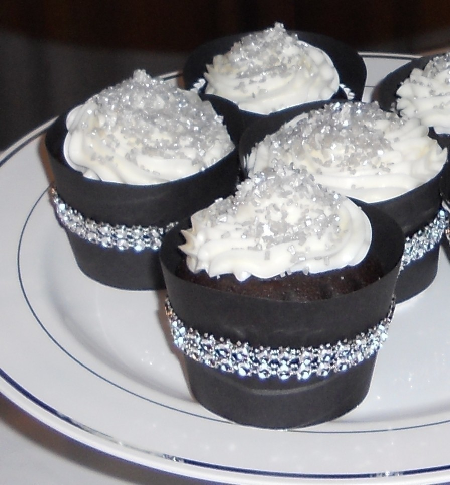 Glamor Cup Cakes With Bling A Novelty Cake Baking And