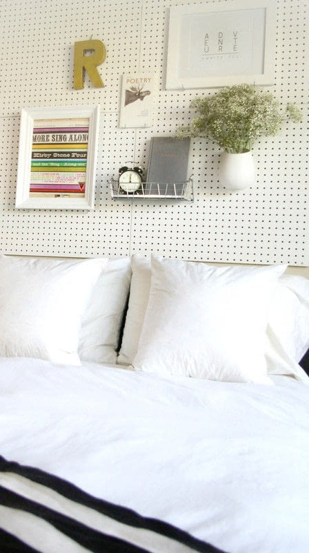 Pegboard Headboard How To Make A Bed Headboard Construction On Cut Out Keep