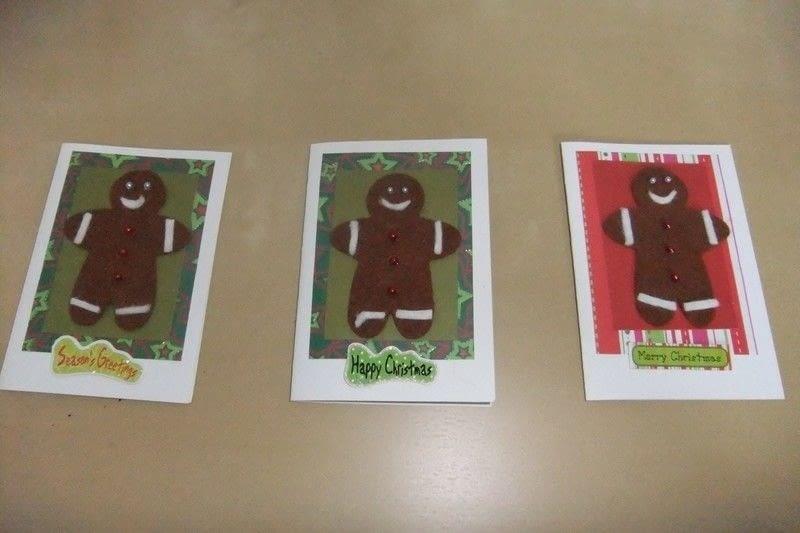 Felt Christmas Cards 183 A Greetings Card 183 Cardmaking On