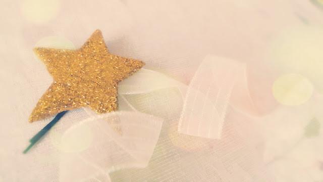 Diy Hair Accessories Whimsical Felt Glitter Star Hairpin