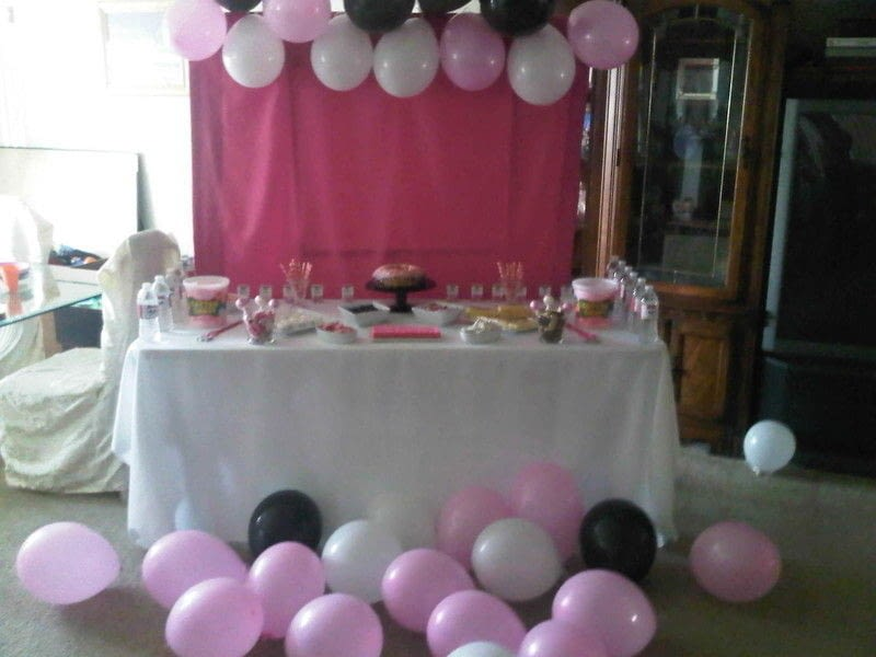 Background Decoration Birthday Party Home
