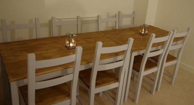 Farmhouse Table From Cheap Ikea Ingo A Table Home DIY On Cut Out Keep