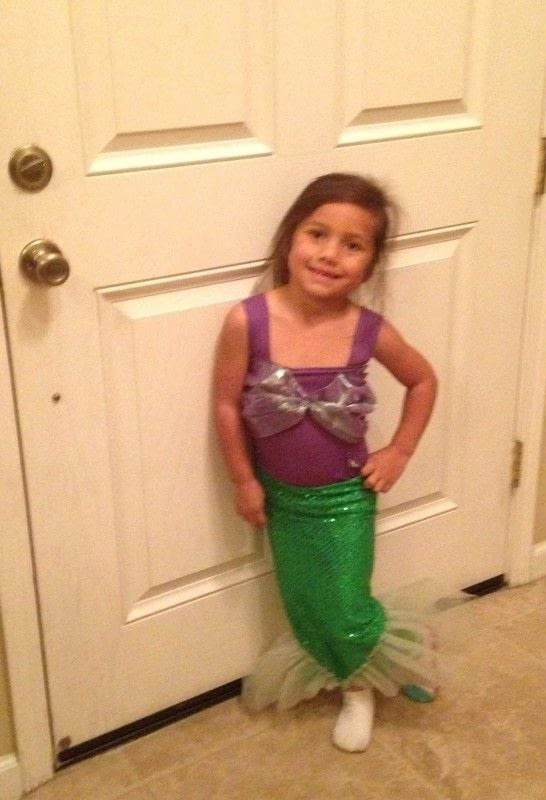 Little Mermaid Inspired Costume A Mermaid Costume Sewing On Cut Out Keep
