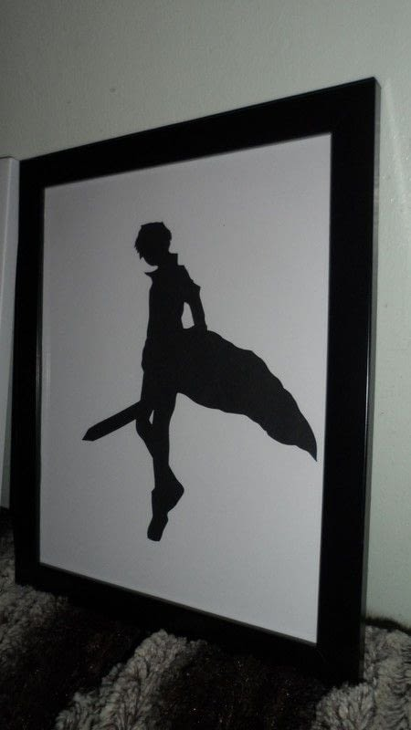 Sword Art Online Silhouettes 183 How To Make Silhouette Art