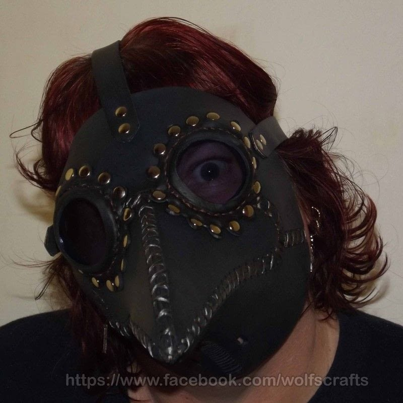Plague Doctor Mask The Raven A Mask Sewing On Cut Out