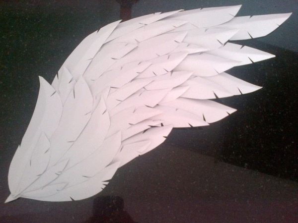 Paper/Craft Foam Wings · How To Make A Wing · Papercraft ...