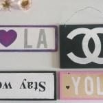 Diy Room Decor Brandy Melville Inspired Chanel Wooden Sign