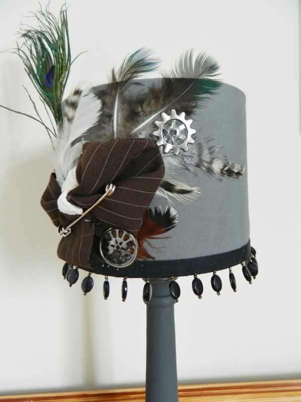 Steampunk Aviary Lamp Shade · How To Make A Lamp ...
