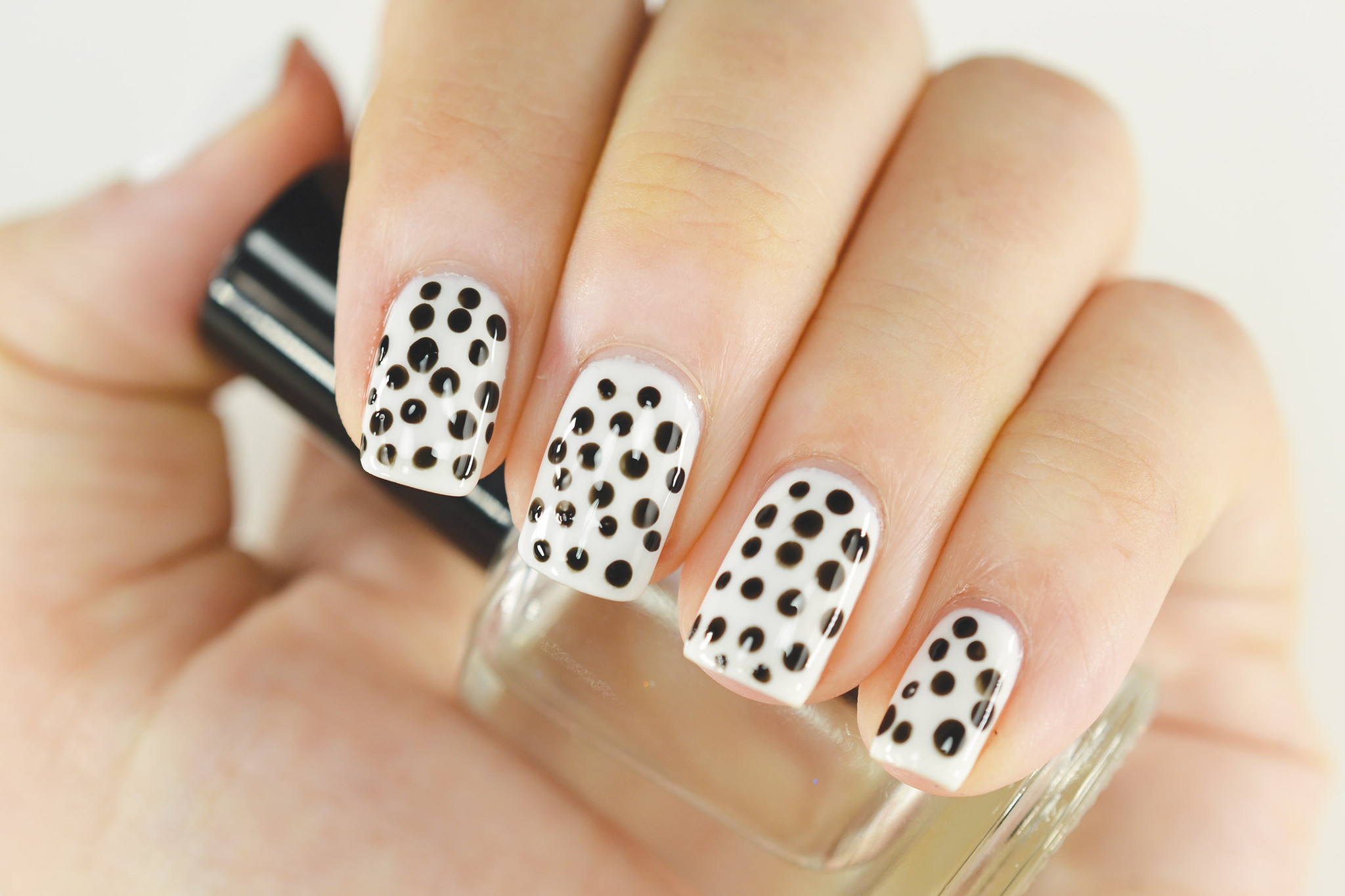 Dot Nail Art Method Bobby Pin Extract From Homemade Polish By Allison Rose Spiekermann How To Paint Patterned