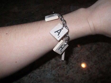 scrabble tile bracelet a scrabble