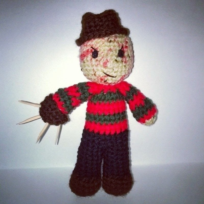 Crochet Horror Movie Characters A Movie Plushie Yarncraft On Cut Out Keep