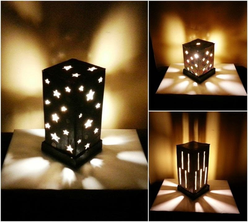 Diy Cardboard Lamp Shade How To Make A Lamp Lampshade