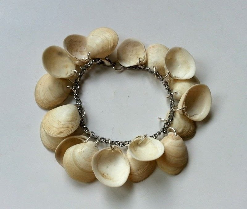Diy Sea Shell Bracelet How To Make A Recycled Bracelet