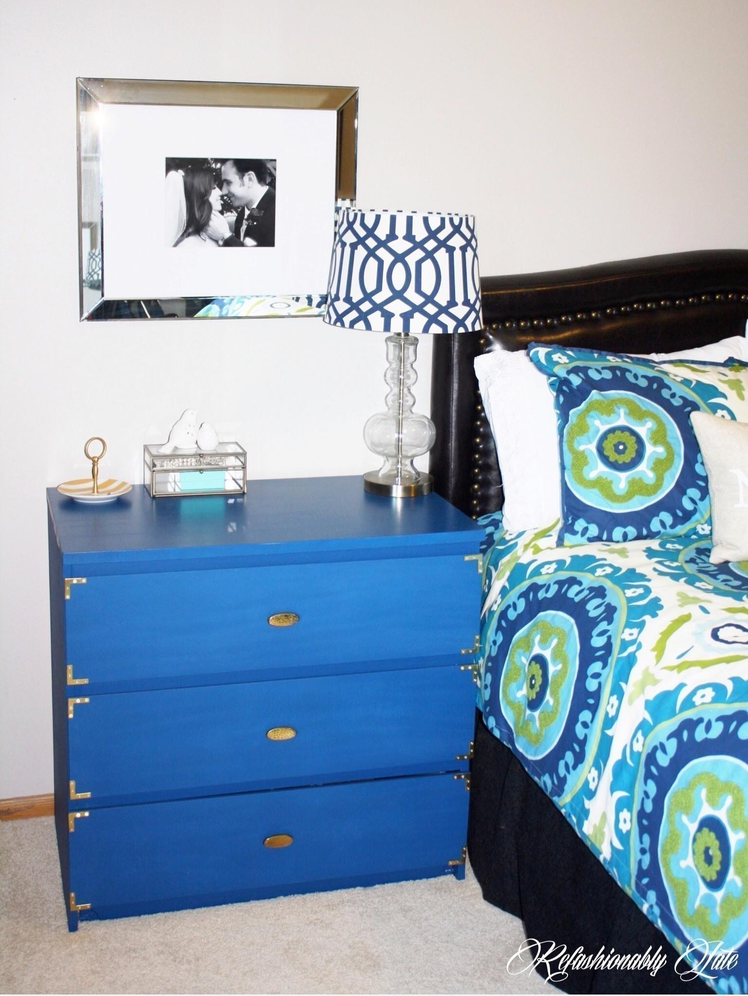 Ikea Malm Makeover How To Make A Bedside Table