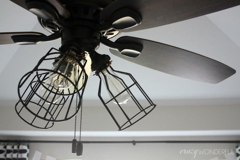 Painting Metal Light Fixture