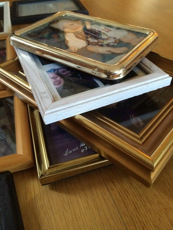 Diy Multi Photo Frame From Old Frames %c2%b7 How To Make A