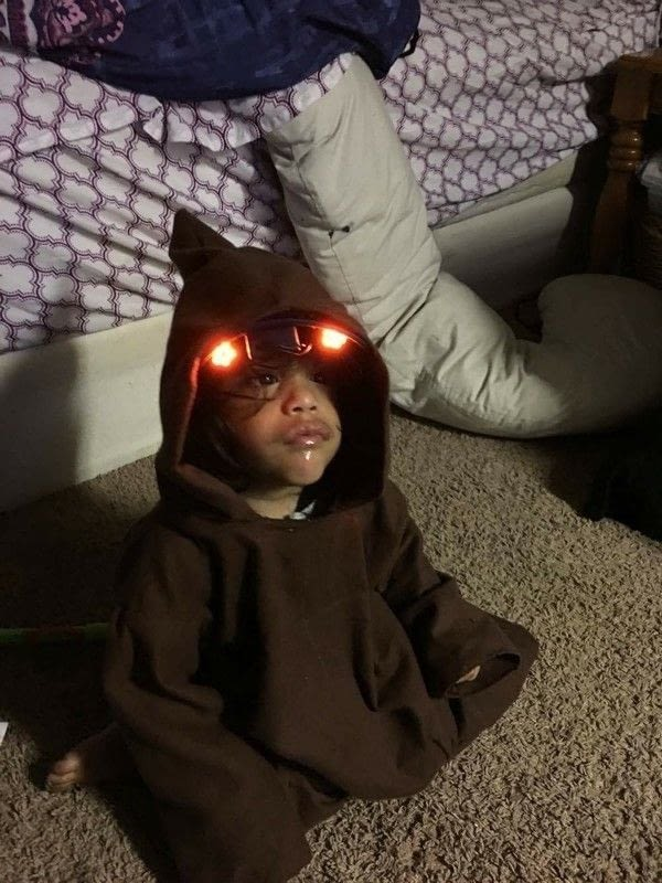 Star Wars Jawa Costume How To Make A Full Costume Sewing On Cut Out Keep