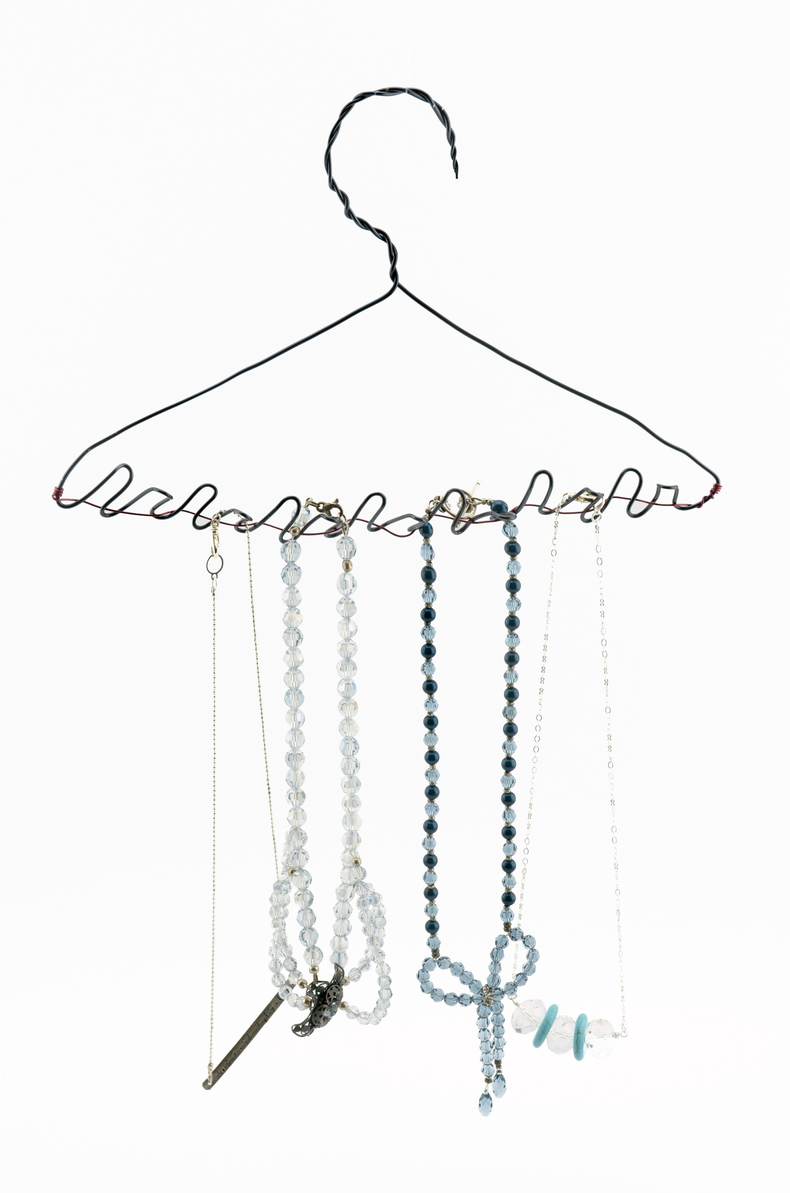 Diy Jewelry Hanger How To Make A Jewelry Hanger Home