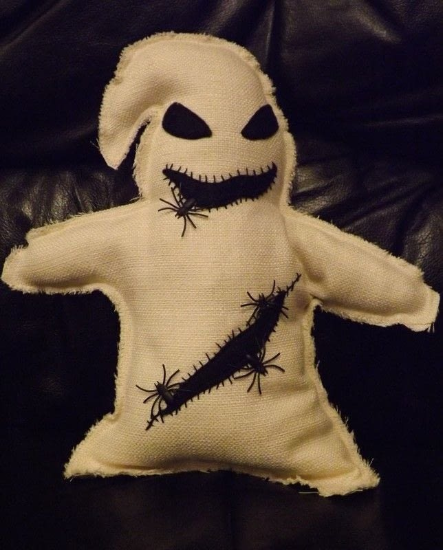 Oogie Boogie A Movie Plushie Sewing On Cut Out Keep