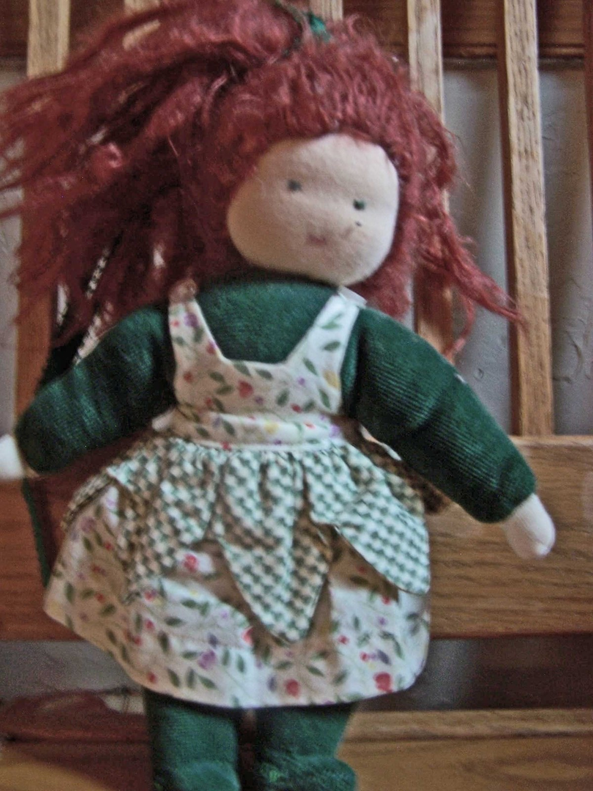 Hand Sewn Doll A Rag Dolls A Person Plushie Sewing On Cut Out Keep