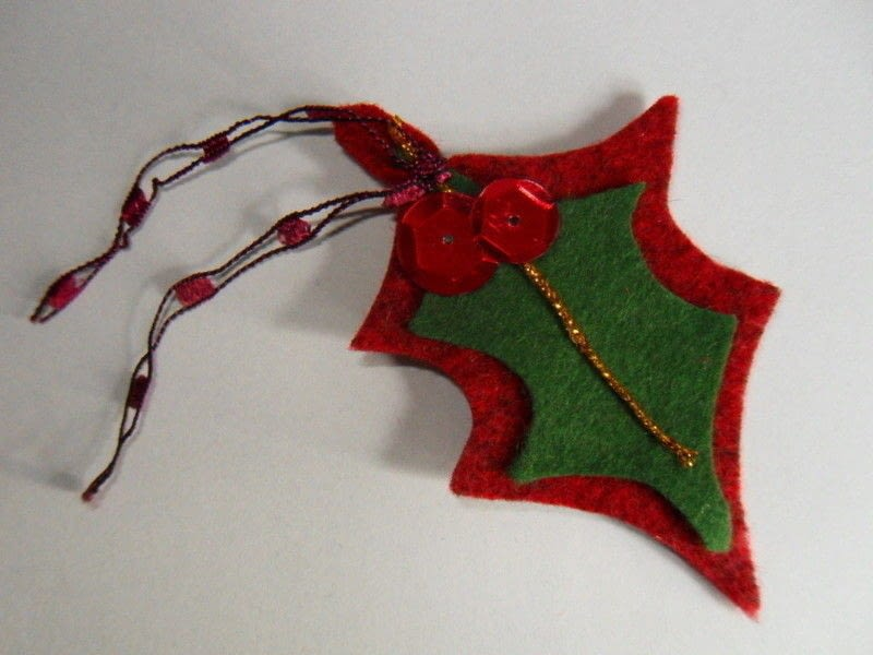 Christmas No Sew Felt Decorations A Christmas Tree