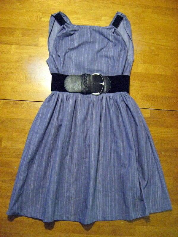 Light Summer Dress Made From A Bed Sheet A Shift Dress