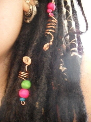 Wire Dread Beads A Wire Hair Clip Jewelry Making And