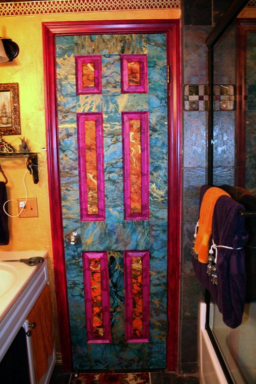 Decoupage Door 183 Wall Decor 183 Art Decorating And