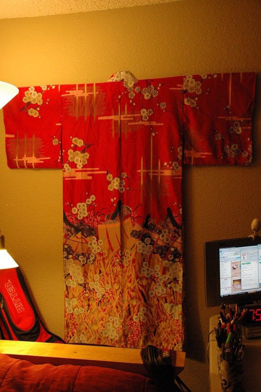 Hanging A Kimono How To Make A Hanging Construction On