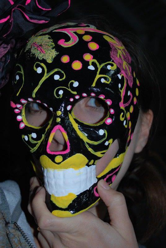 Da De Los MuertosDay Of The Dead Mask A Mask
