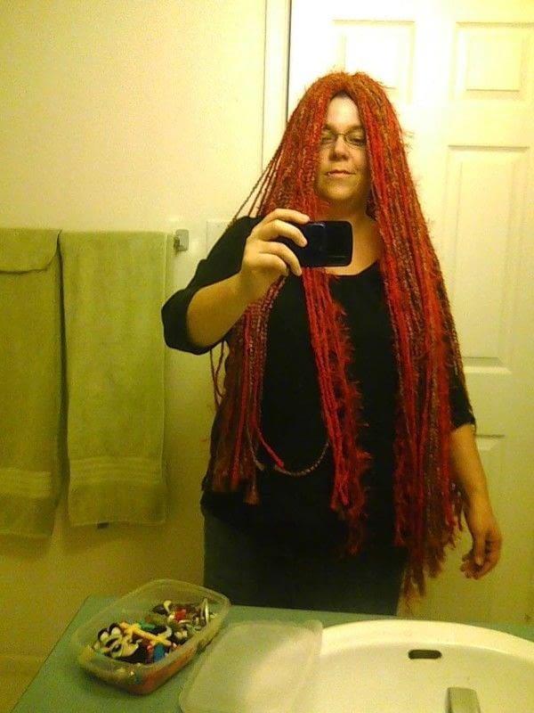Sally Rag Doll Wig 183 How To Make A Wig 183 Yarn Craft On