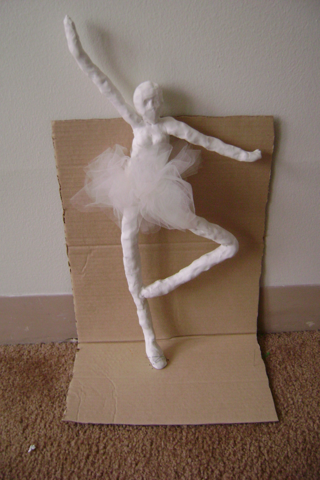 Ballerina 183 A Clay Character 183 Molding On Cut Out Keep