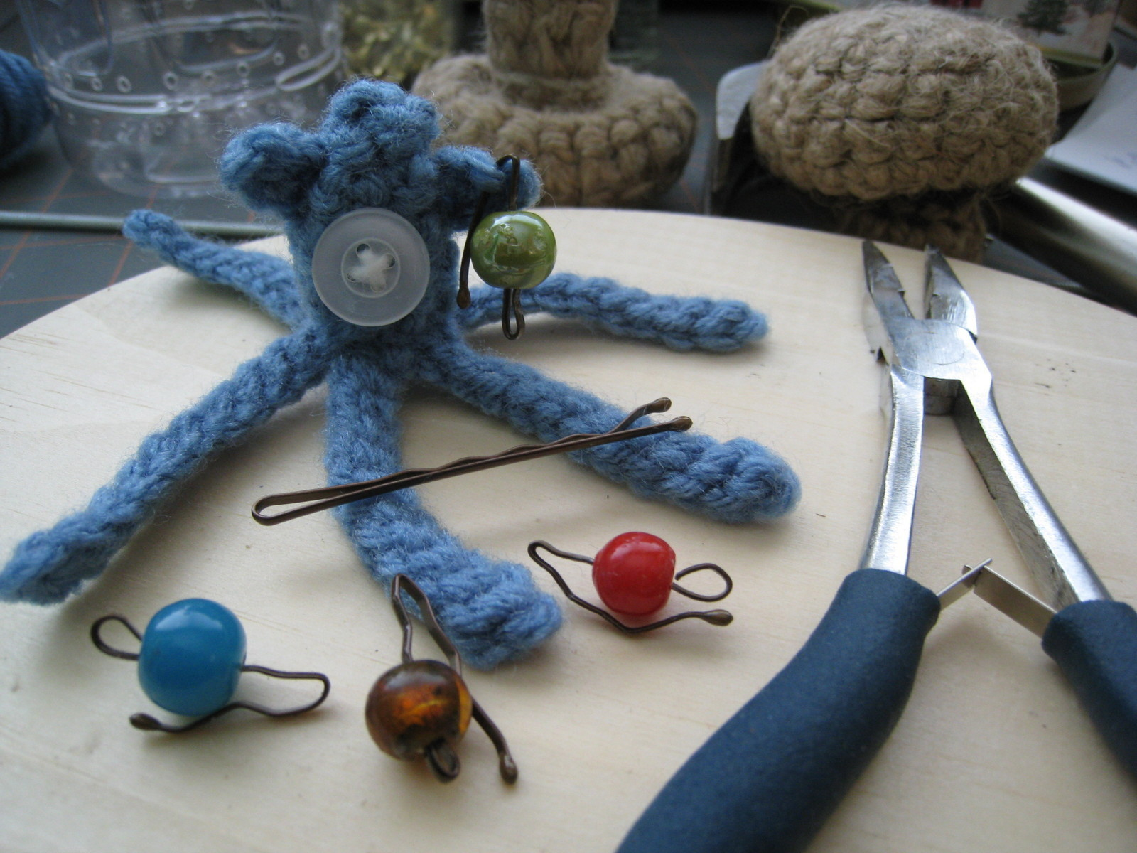Crochet Stitch Markers How To Make A Stitch Marker