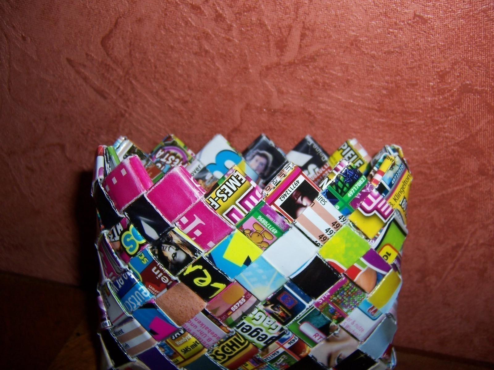 Candy Wrapper Purse A Wallet Paper Folding On Cut