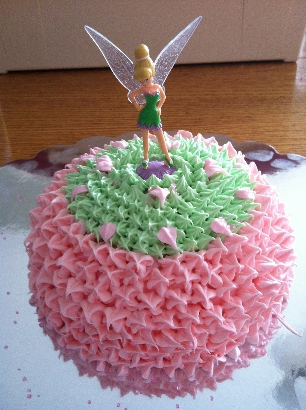 Tinker Bell Cake How To Decorate A Doll Cake Baking