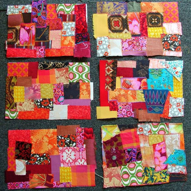 Cheaters Crazy Patchwork How To Make A Patchwork Quilt