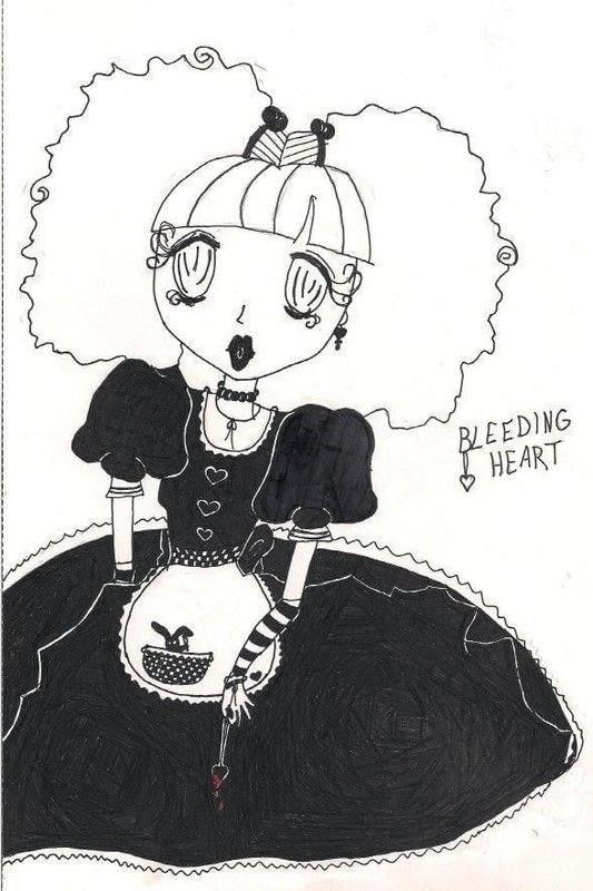 Paper Bleeding Cut