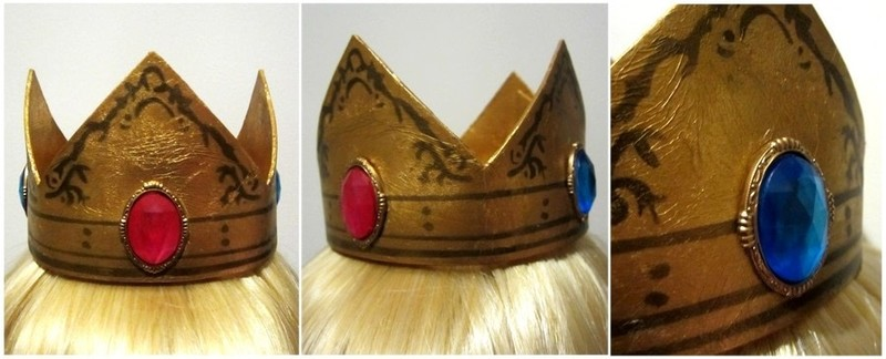 Princess Peach Crown How To Make A Tiara Crown