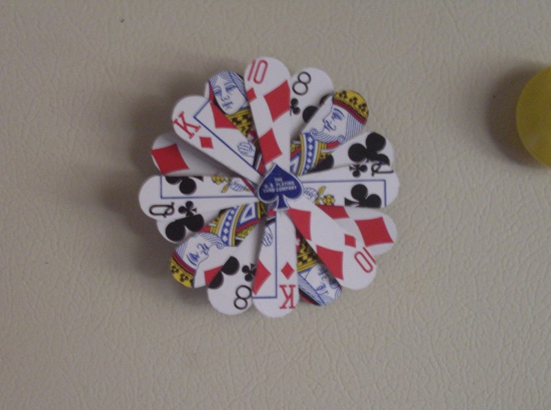 Playing Card Magnet How To Make A Recycled Magnet