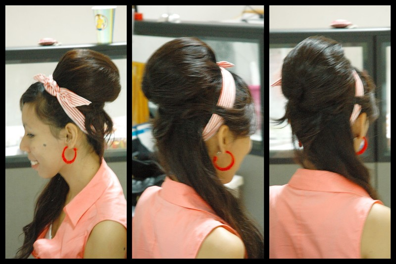 Amy Winehouse Easy Bee Hive Hair Up Do How To Style A