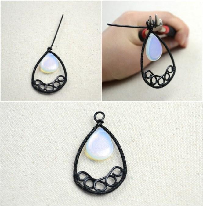 How To Make A Hoop Earring Handmade Jewelry Ideas Wire Wred Chandelier Earrings Step