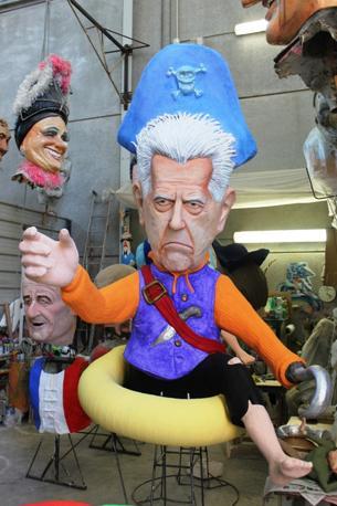 Mario Monti come un pirata