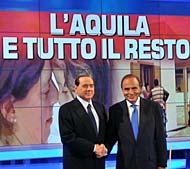 Porta a Porta con Berlusconi battuto da 'L'Onore e il rispetto'